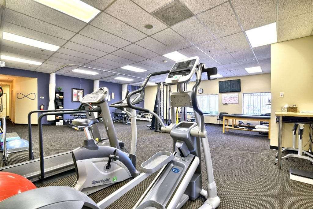 An image of the interior of our physical therapy clinic in Middleton, Massachusetts.