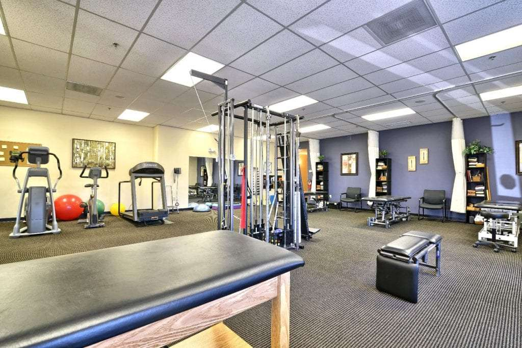 An image of the equipment at our physical therapy clinic in Middleton, Massachusetts.