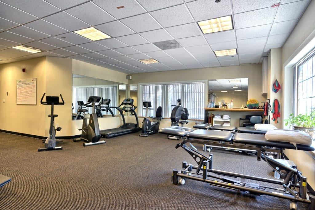 A photo of equipment in our facility at the physical therapy clinic in Salem, Massachusetts.
