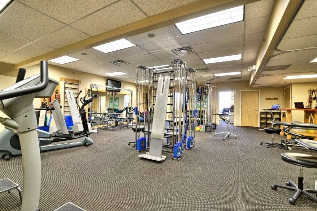 An image of the inside of our physical therapy clinic in Springfield, Massachusetts.