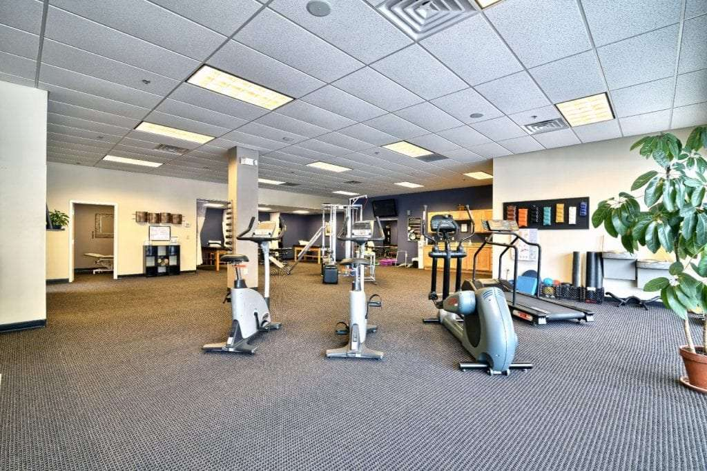 This is an image of some of the exercise equipment used for physical therapy at our clinic in Somersworth, New Hampshire.