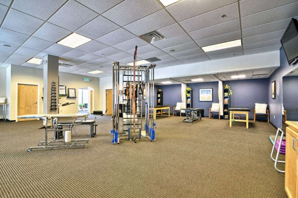 An image of the interior of our physical therapy clinic in Somersworth, New Hampshire.