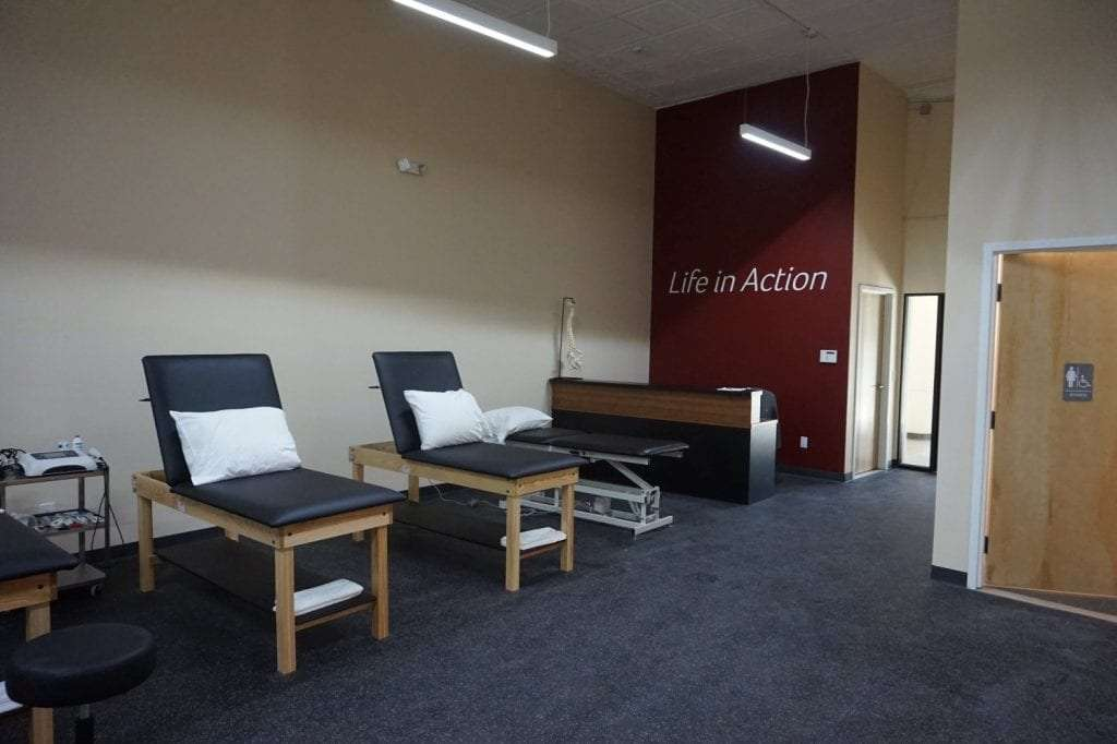This is an image of the interior of our clean facility at our physical therapy clinic in Bay Shore, New York.