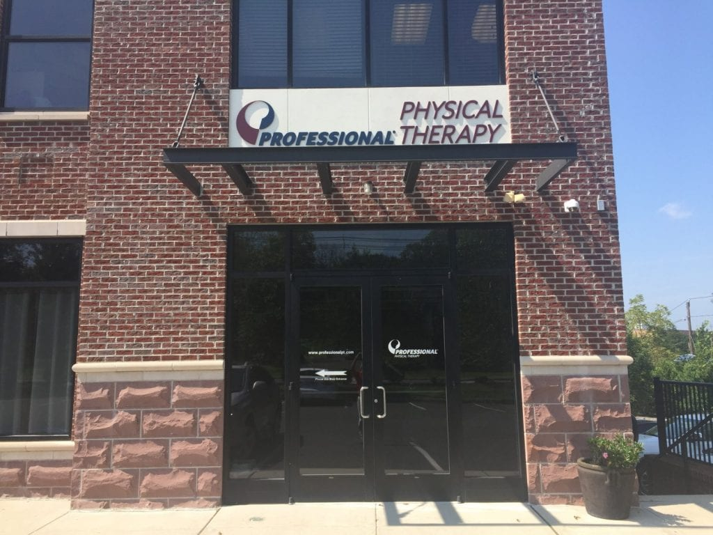 This is an image of the exterior of our physical therapy clinic in Bridgewater, New Jersey.