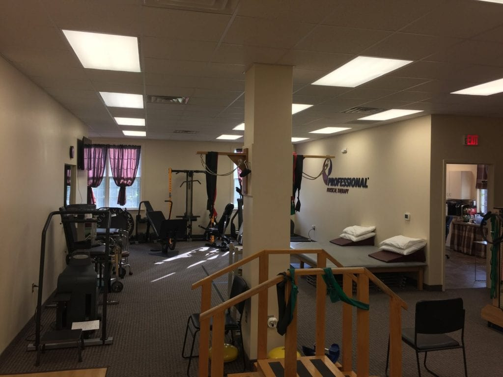 This is an interior shot of our physical therapy clinic in South Plainfield, New Jersey.