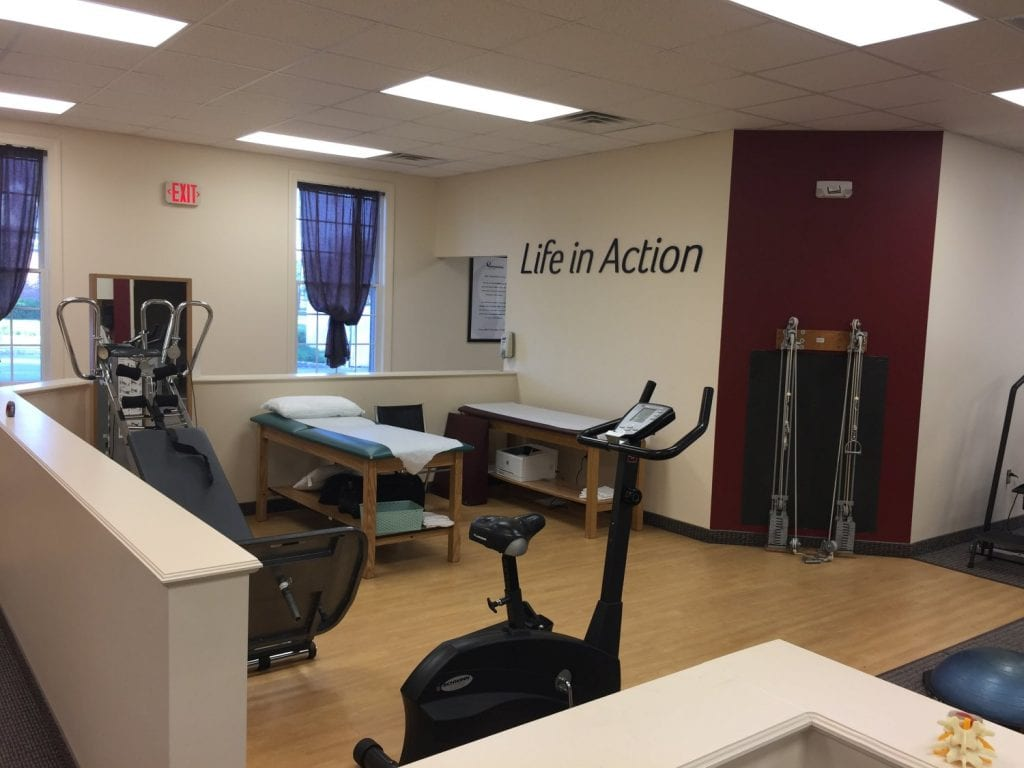 Here is an image of the interior of our physical therapy clinic in South Plainfield, New Jersey.