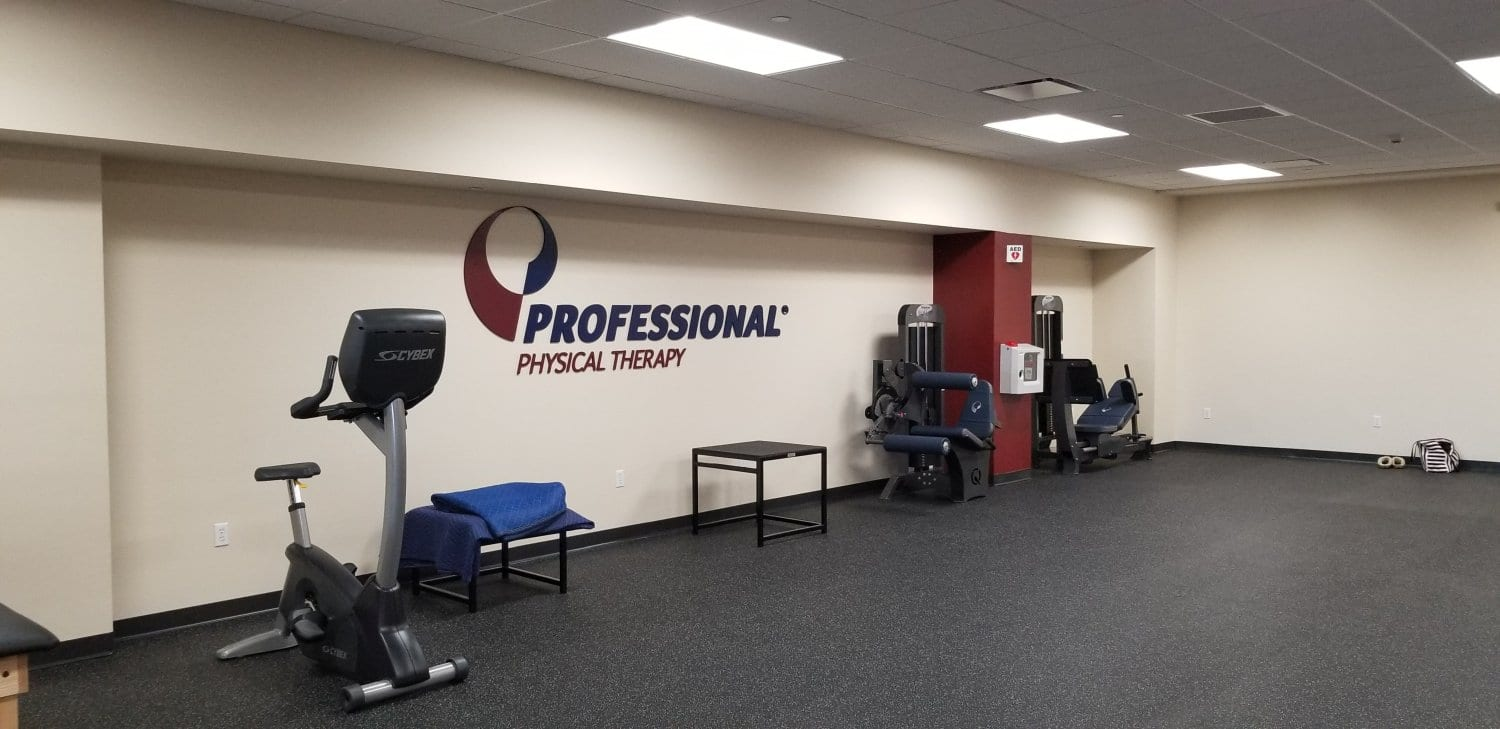 A photo of the interior of our physical therapy clinic including various exercise equipment in Morristown, New Jersey at Headquarters Plaza.