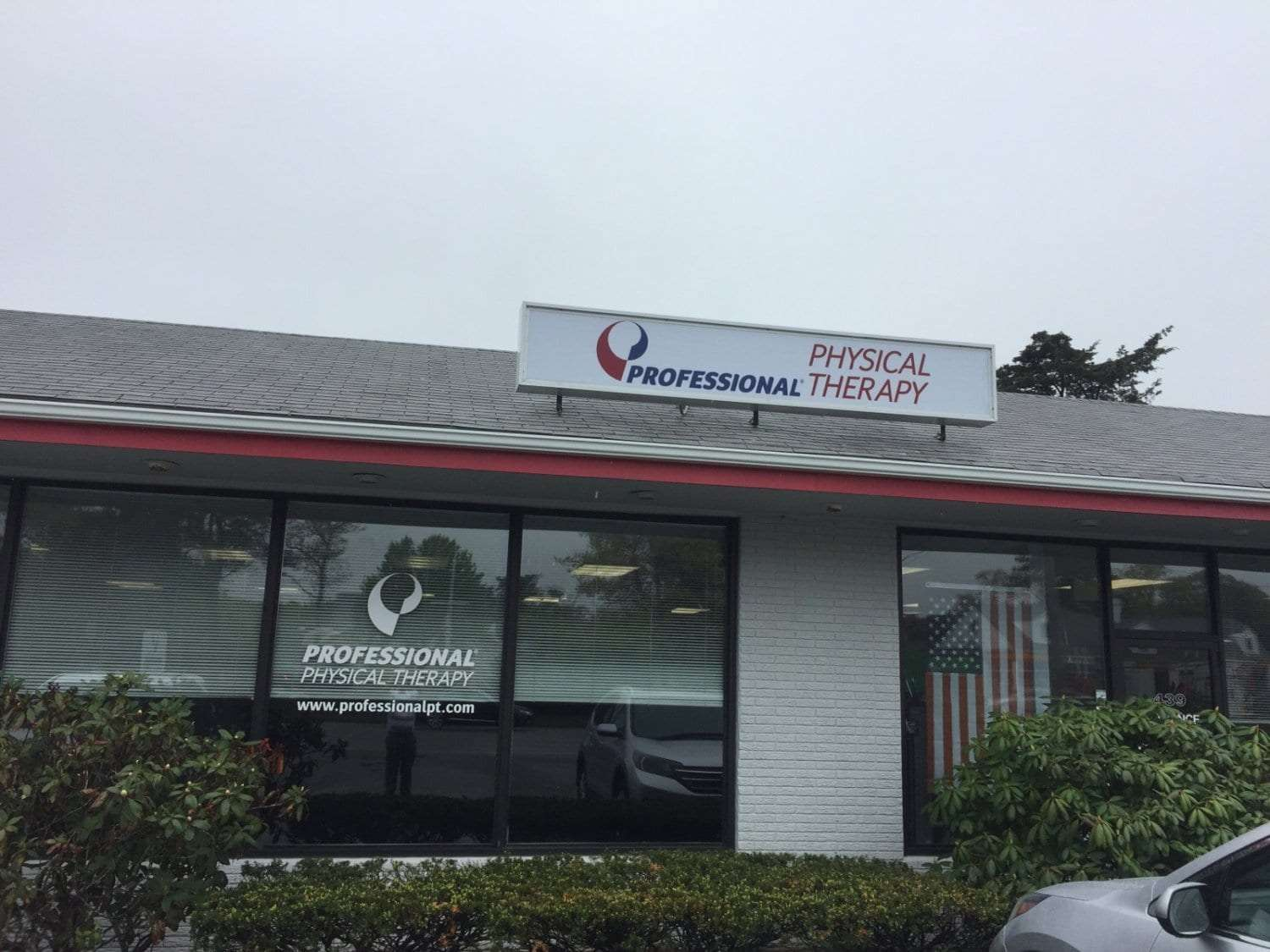 This is an image of the exterior of our Cape Cod, Massachusetts physical therapy clinic.