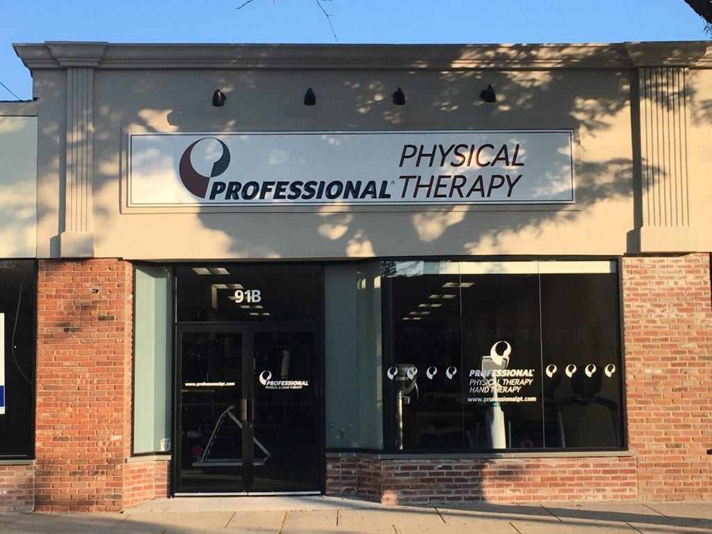 This is an image of the exterior of our physical therapy clinic in Sayville, New York.