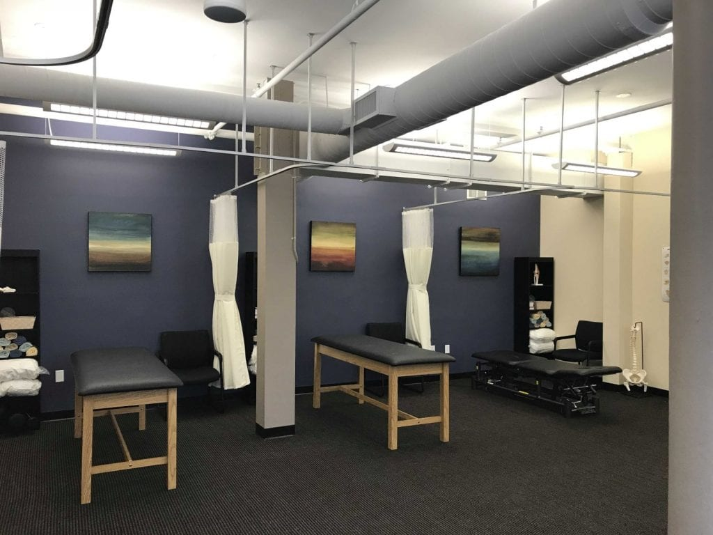 Here is an image of our clean facility at our physical therapy clinic in Watertown, Massachusetts.