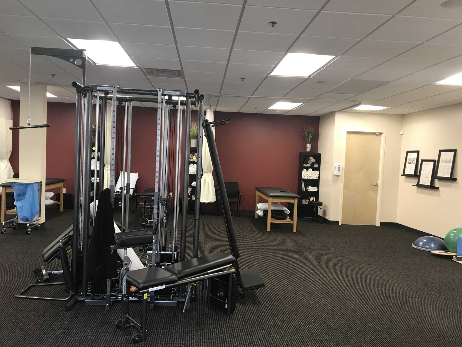 An image of equipment at our physical therapy clinic in Newton, Massachusetts.