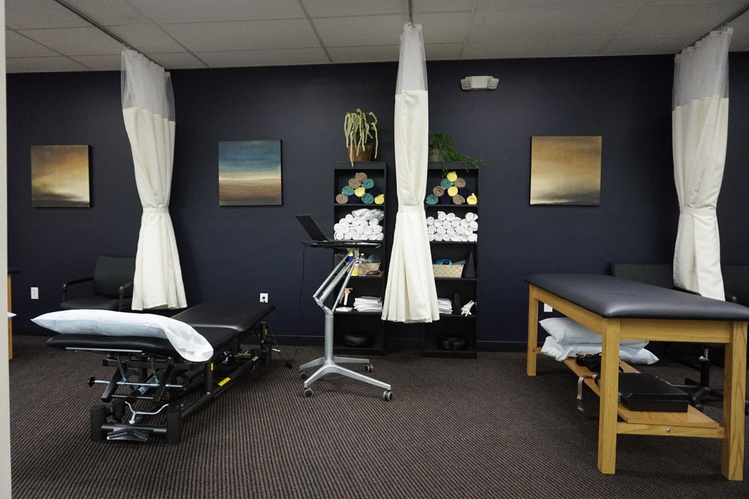 Here is an alternate angle of our physical therapy clinic interior at our Winchester Massachusetts location.