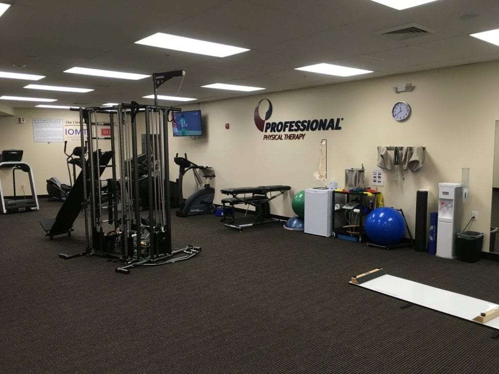 This is a shot of physical therapy equipment at our clinic in Winchester Massachusetts.