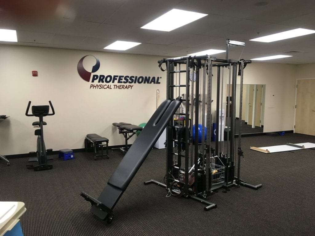 This image shows physical therapy equipment in our Winchester Massachusetts clinic.