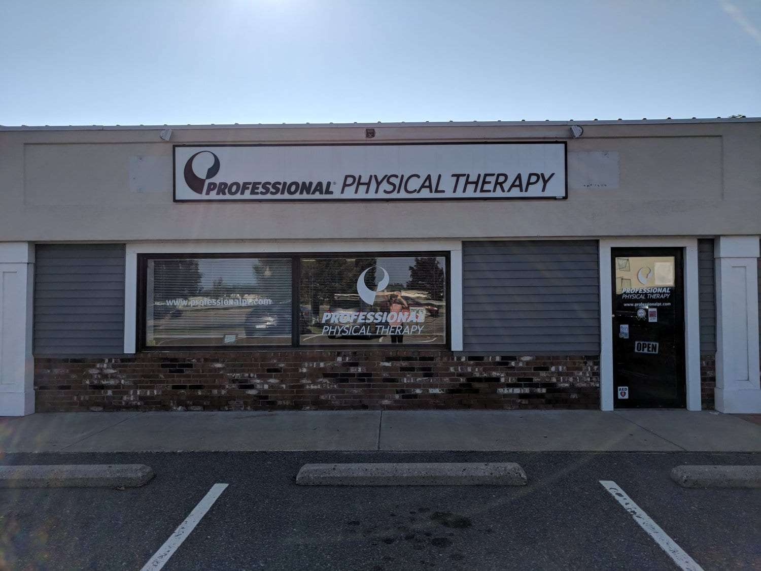 Here is an image of the exterior of our physical therapy clinic in Plymouth, Massachusetts.