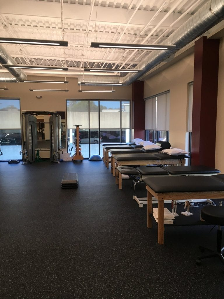 Here is an image of the stretch beds used at our physical therapy clinic in Princeton, New Jersey.