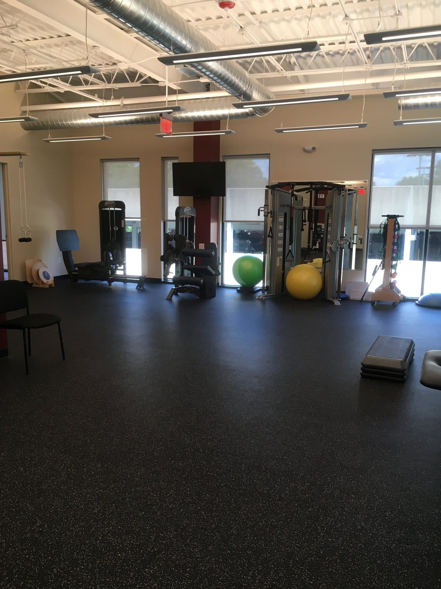 A photo of equipment at our physical therapy clinic in Princeton, New Jersey.
