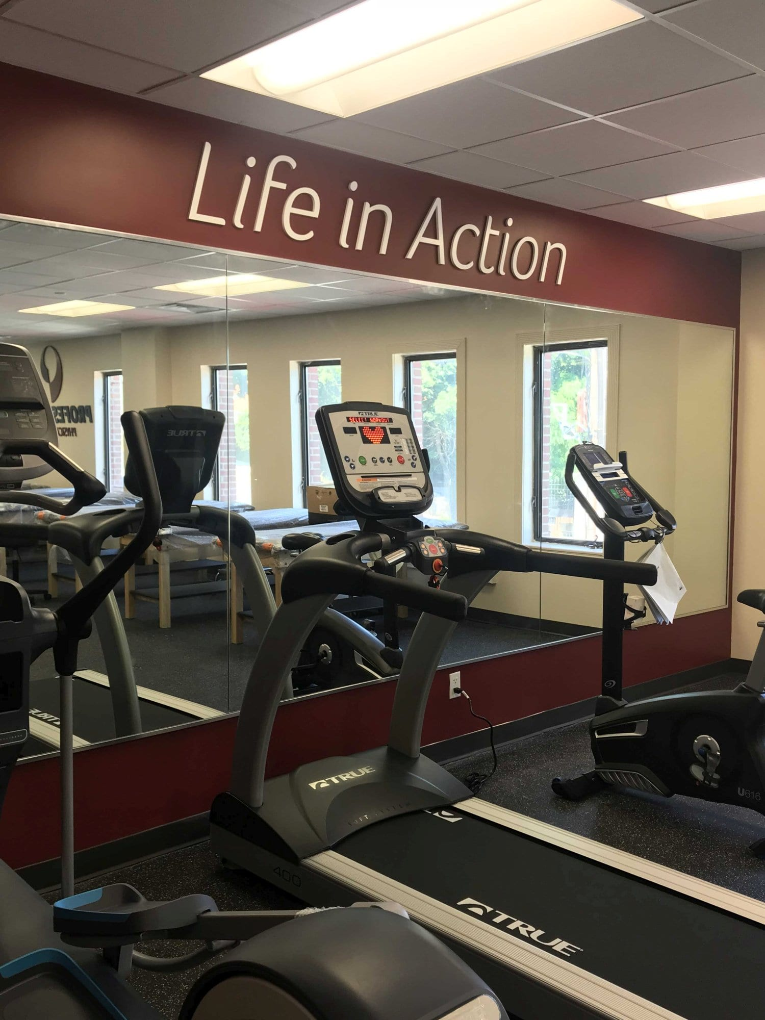 Here is a photo of clean maintained equipment at our physical therapy clinic in Mount Vernon in New York at Fleetwood.