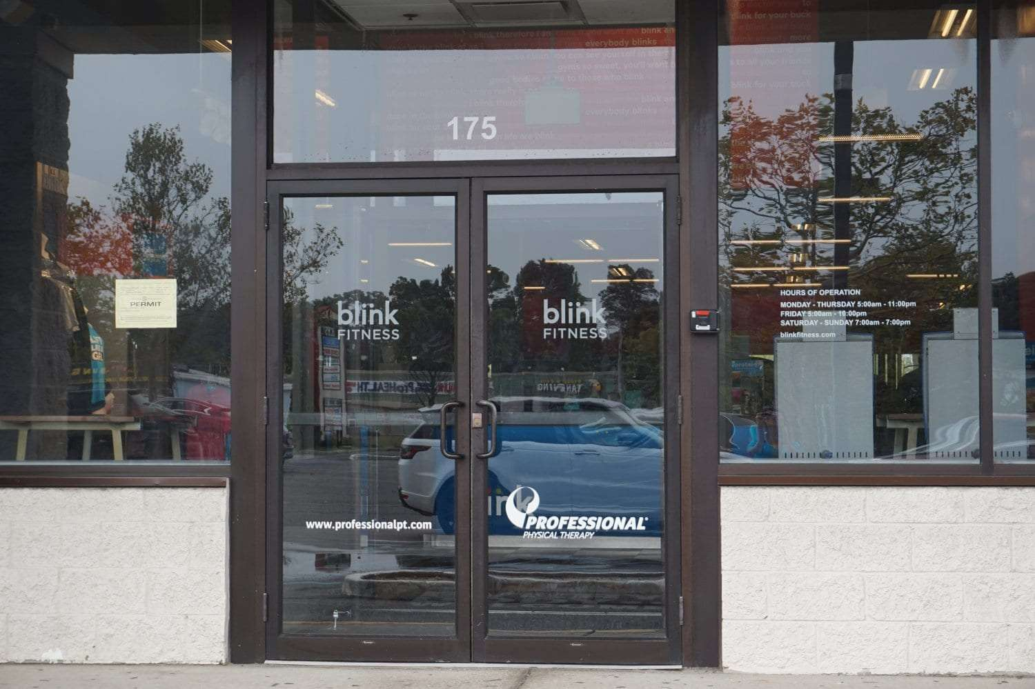 Here is the front entrance of our physical therapy clinic in West Islip New York.