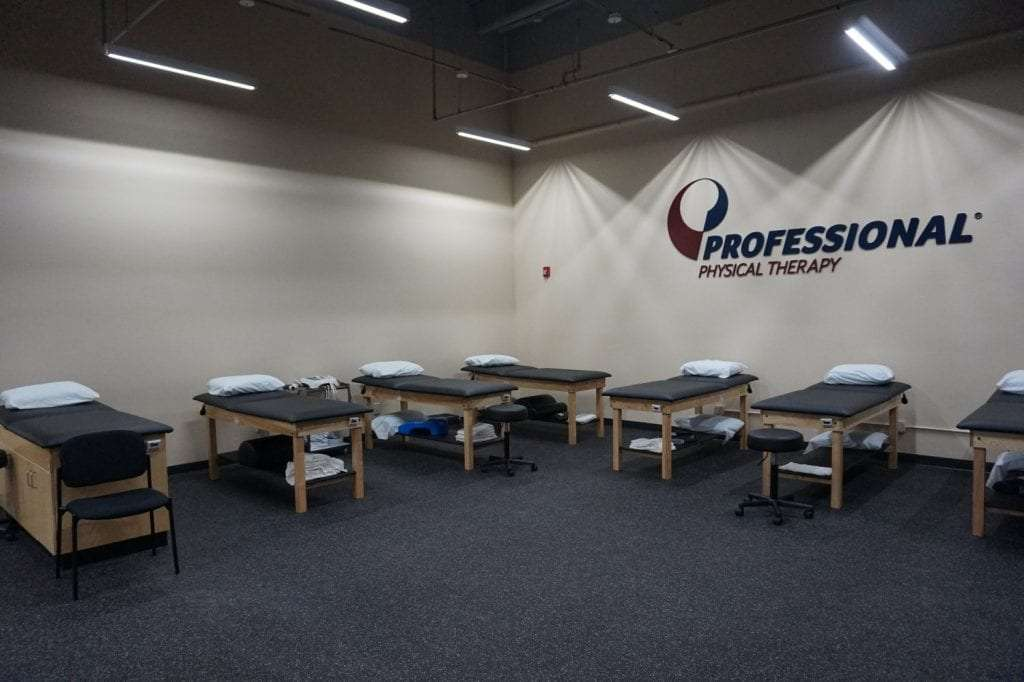 This is a photo of the stretch beds at our West Islip physical therapy clinic in New York.