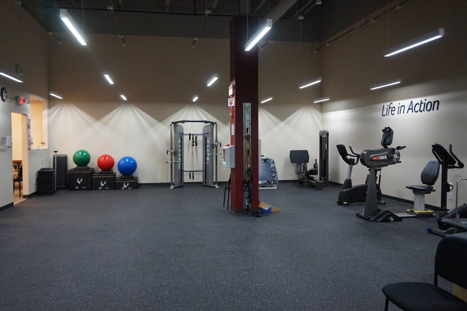Here is an interior shot of our West Islip, New York physical therapy clinic.