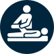 Services icon for physical therapy.