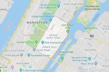 Map Of New York Rockefeller Center.Professional Physical Therapy All Clinic Locations
