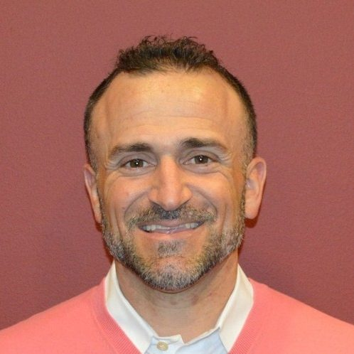 Headshot of our athletic training and sports medicine director Angelo Marsella.