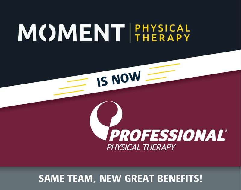 Moment Physical Therapy is now Professional Physical Therapy in Madison, NJ.