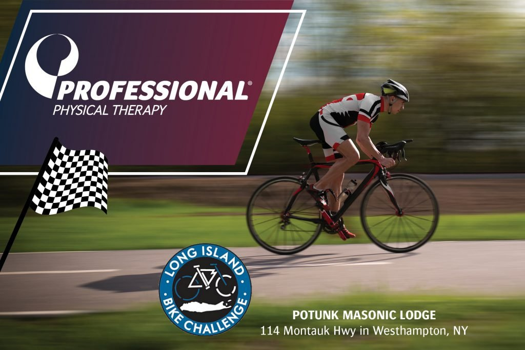ProPT LI Bike challenge, rider on bike